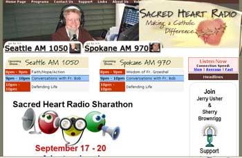 picture of radio web site
